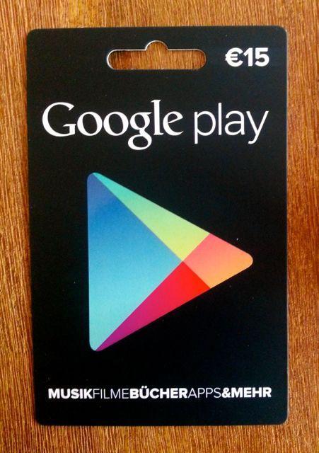 kostenloses google play guthaben